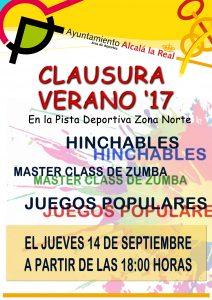 CLAUSURA ACTIVIDADES DE VERANO EN PISTA DEPORTIVA ZONA NORTE @ PISTAS DEPORTIVAS ZONA NORTE