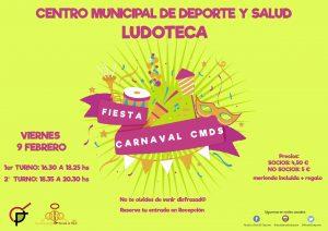FIESTA CARNAVAL LUDOTECA CMDS @ CMDS Alcalá la Real   Alcalá la Real   Andalucía   España